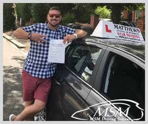 Driving Lessons Reading, Driving Schools Reading, Driving Instructors Reading, Reading Town Centre, MSM Driving School Reading, Matthews School of Motoring Reading