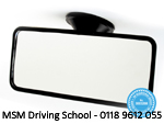 Summit Interior Mirror RV-34, MSM Driving School, Driving Lessons Reading